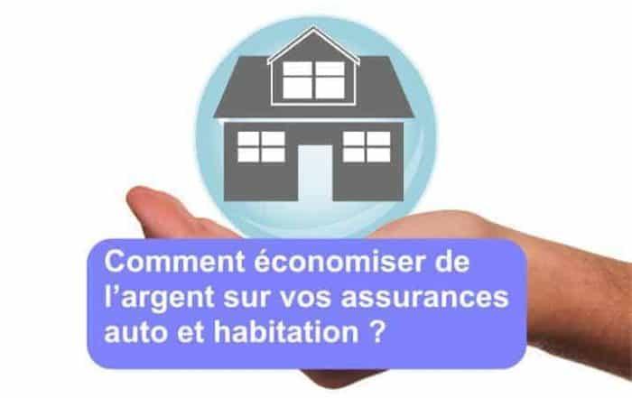 économiser argent assurance auto habitation
