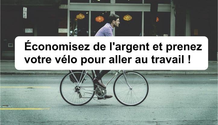 économiser argent vélo