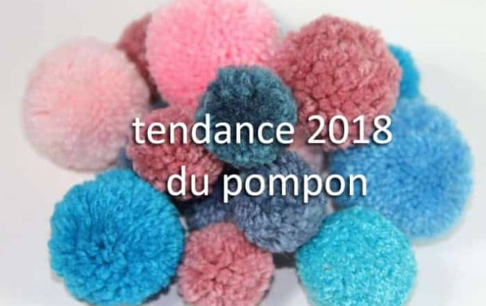 tendance 2018 du pompon