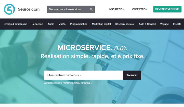 5euros micro services gagner de l'argent