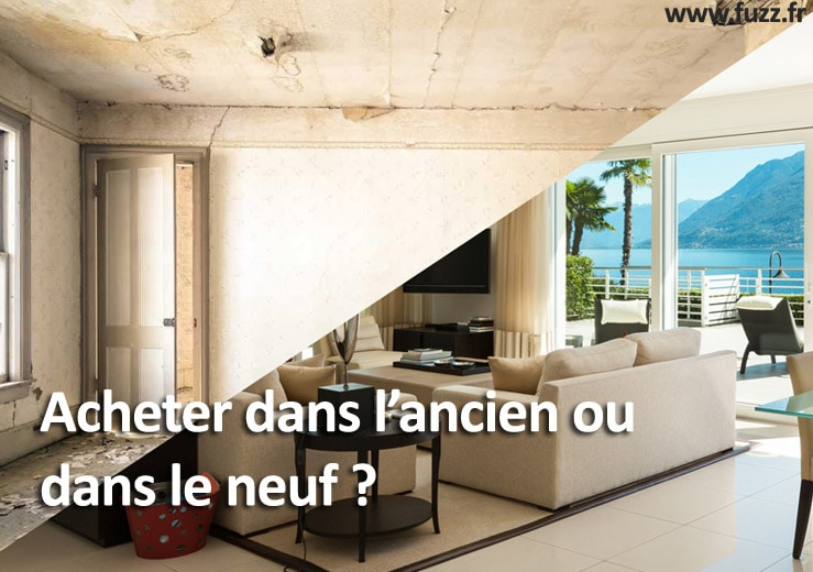 Achat immobilier ancien ou neuf ?
