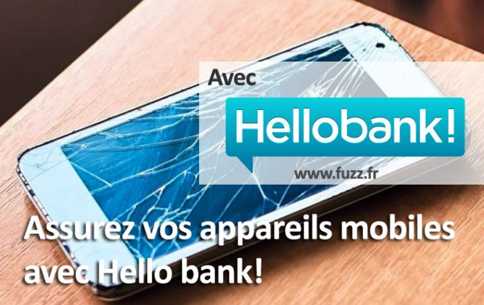Assurez vos appareils mobiles avec Hello bank