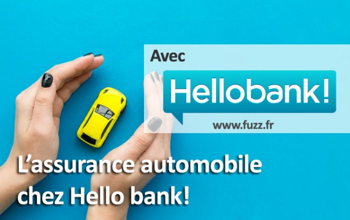L'assurance automobile par Hello bank!