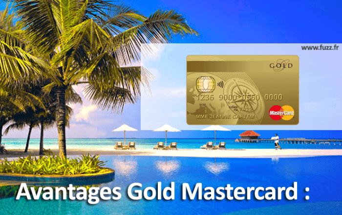 Les avantages de la gold mastercard