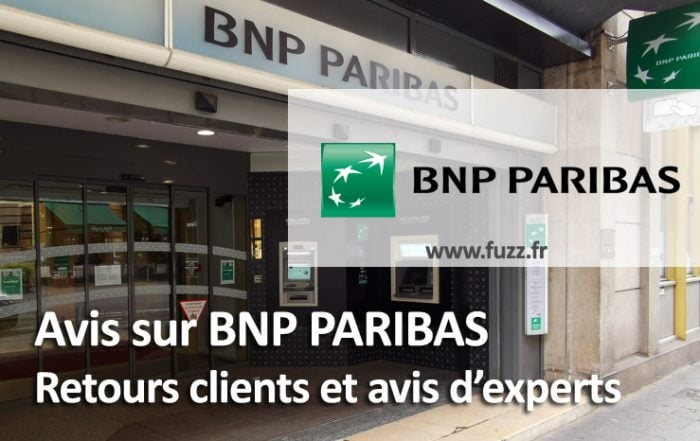 Avis banque BNP Paribas