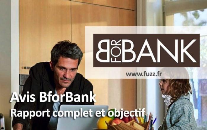 Avis de la banque Bforbank