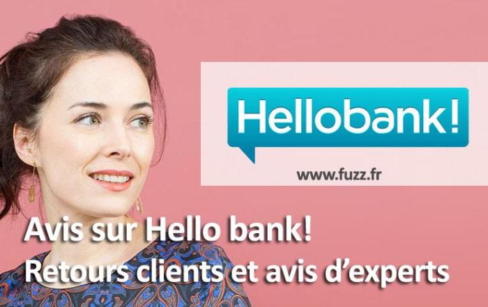 Avis sur la banque en ligne hello bank!
