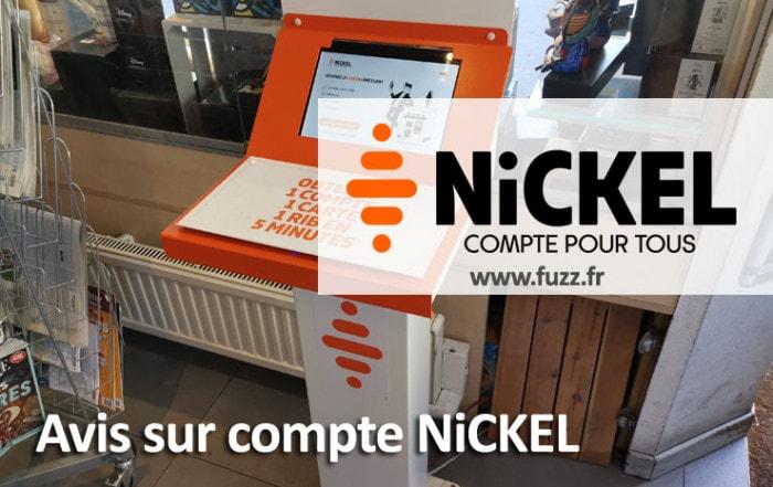 Avis sur le compte nickel