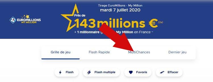 Avis sur multichances Euromillions
