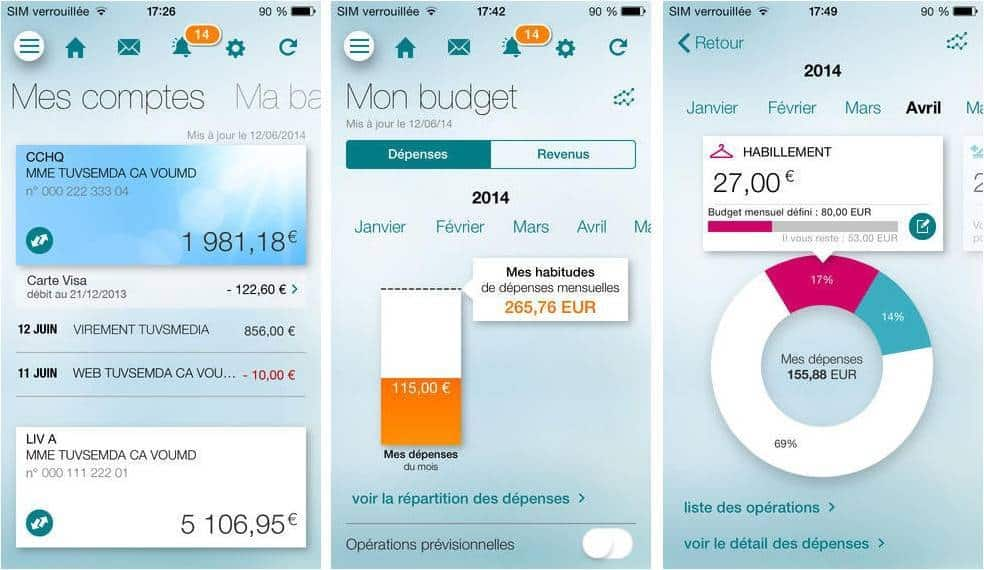 banque credit agricole mobile