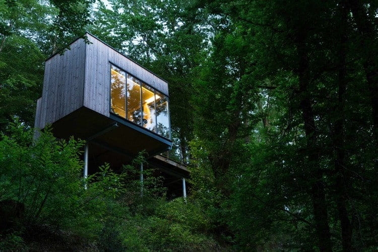 cabane nature luxe insolite