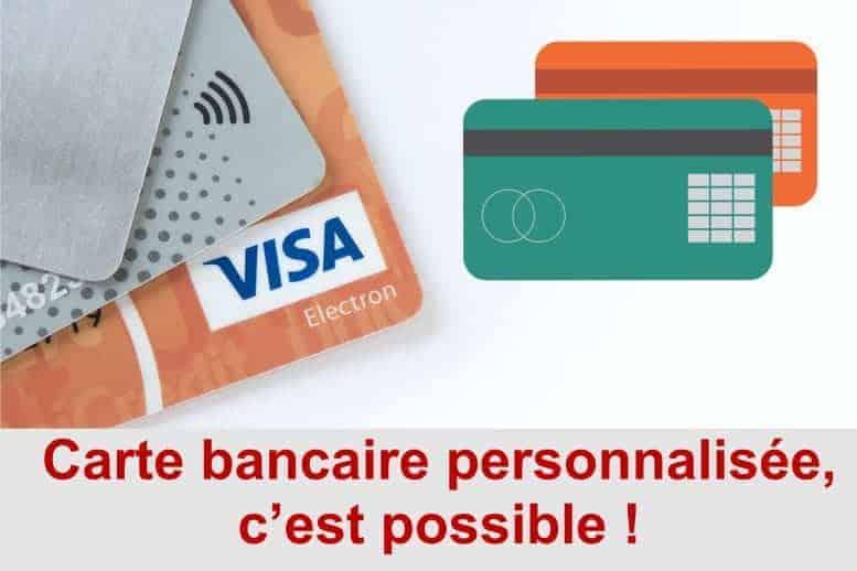 carte bancaire personnalisee banque