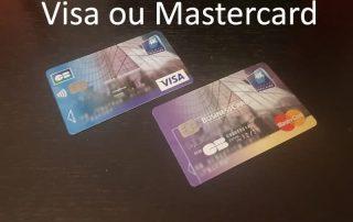 carte visa ou mastercard que choisir