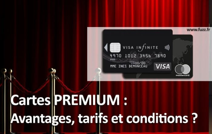 Les cartes bancaires Premium pour le prestige