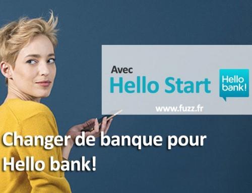 Changer de banque pour Hello bank! (Hello Start)