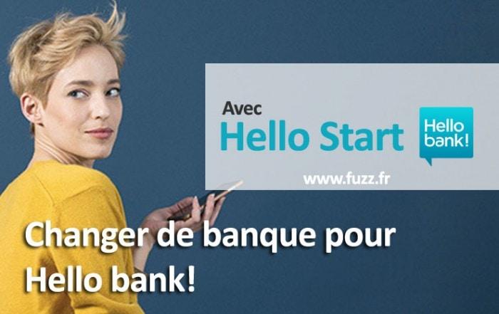Changer de banque pour Hello bank!