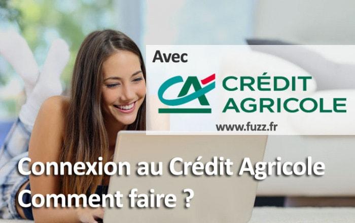 Connexion au crédit agricole