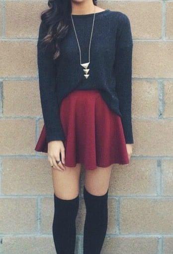 dressing de jupe et cuissardes