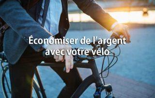 économiser de l'argent à vélo