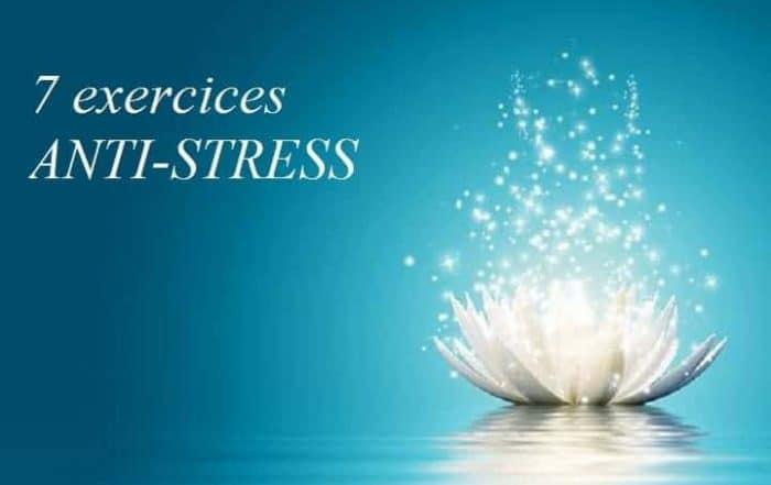 exercice anti stress