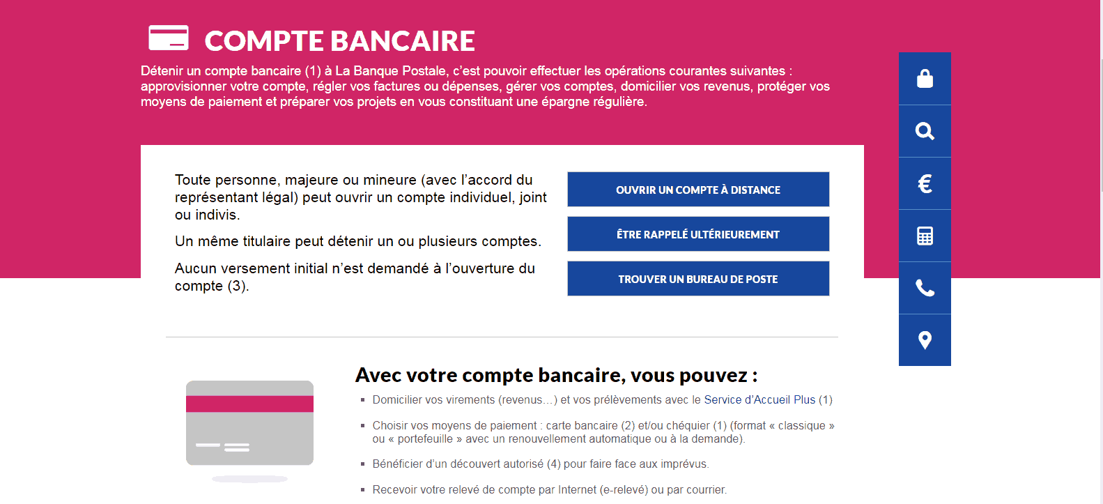 La Poste Carte Bancaire