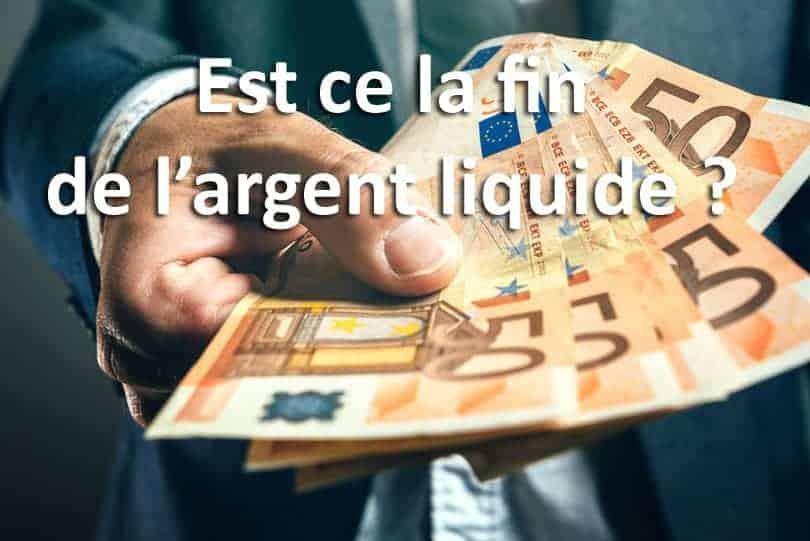 fin argent liquide