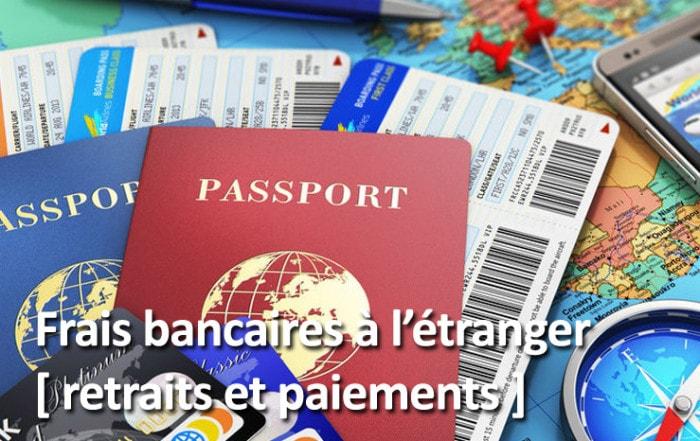Frais bancaires à l'étranger