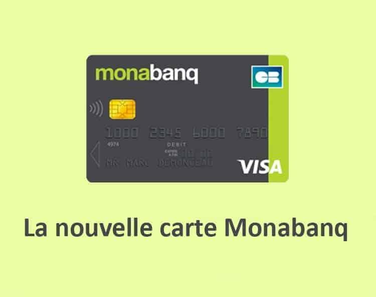 la nouvelle carte bancaire monabanq