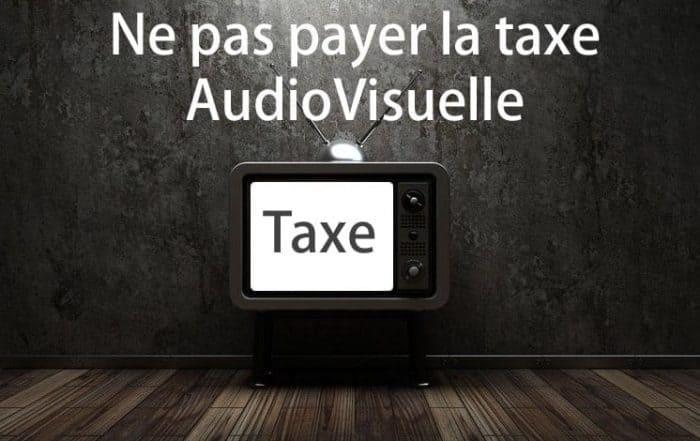Ne pas payer la taxe audiovisuelle
