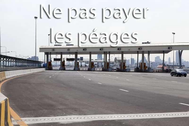 ne pas payer les péages