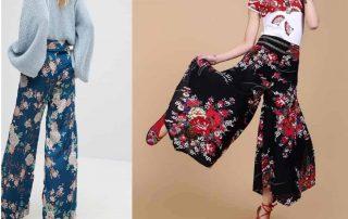 pantalon large femme lin