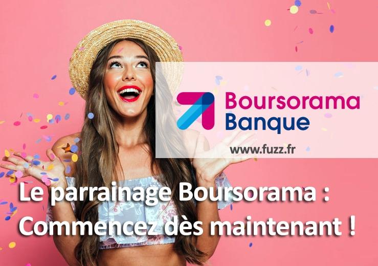Le parrainage Boursorama