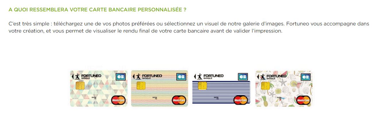 personnaliser carte bancaire
