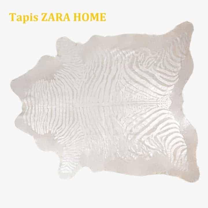 tapis zèbre Zara