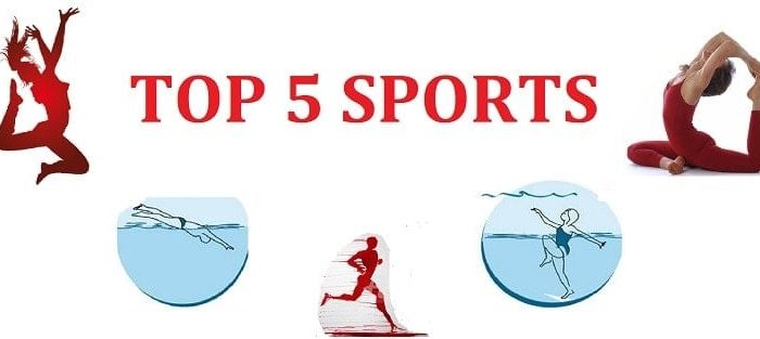 top 5 sports