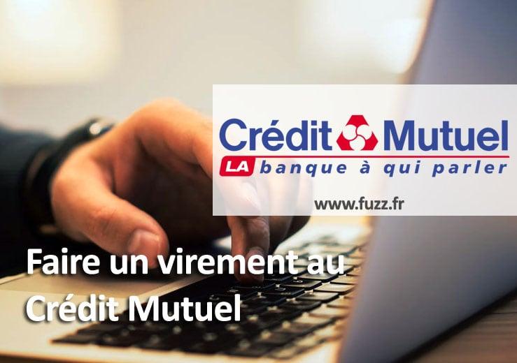 Virement au Crédit Mutuel