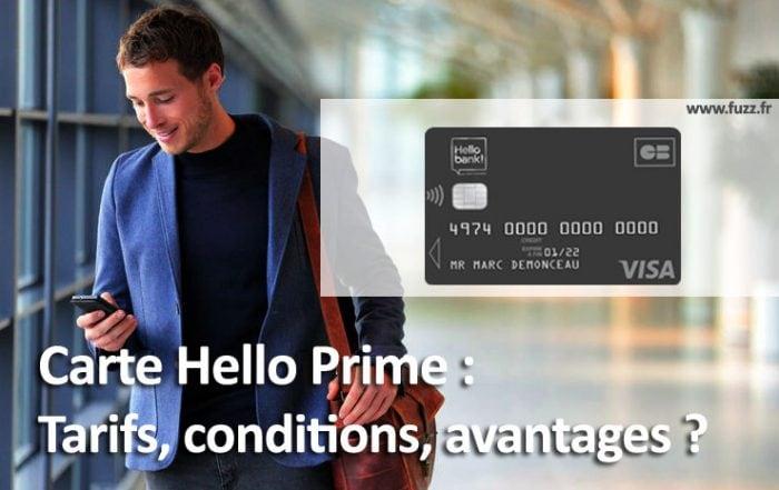 Visa Hello Prime de Hello bank!