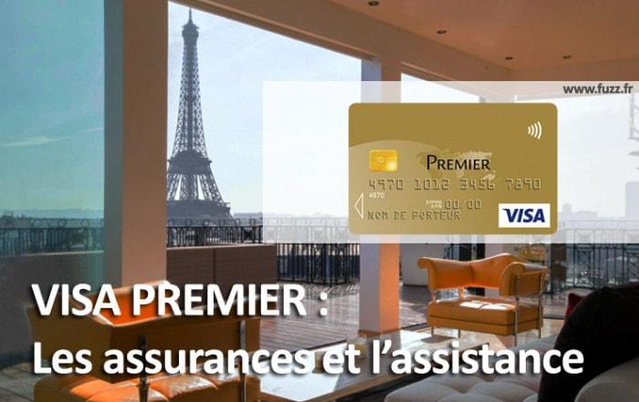 Visa Premier : assurances et assistance