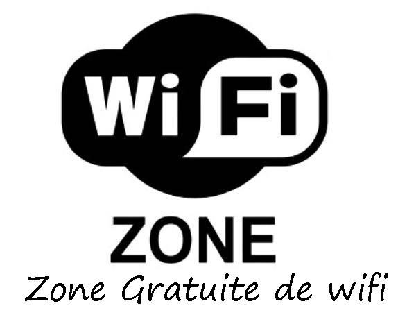 zone hotspot de wifi gratuit